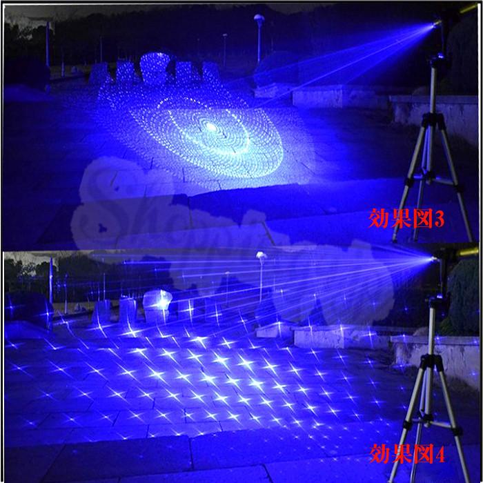 2000mw超強力青色レーザーポインター 懐中電灯 保護メガネ付き